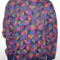 Lacoste Vintage Abstract Art Sweatshirt Xl Photo