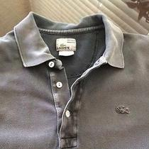 Lacoste Vintage Washed Slim Fit Sz6 Fits Large Photo