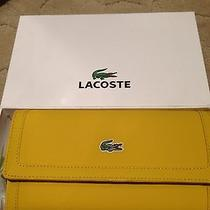 Lacoste Wallet Yellow Photo