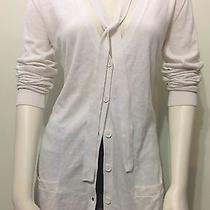 Lacoste Women Cashmere Blend Long Cardigan Sweater Nwt Size 12 Photo