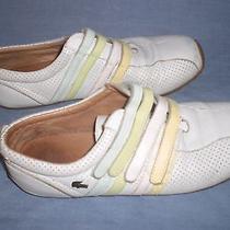 Lacoste Womens Sneaker Sz 8 Photo