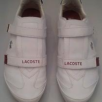 Lacoste Womens Sneakers Athletic White Casual Tennis Shoes 10 M Photo