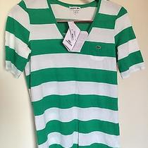 Lacoste Womens v-Neck Shirt size.44 Photo