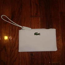 Lacoste Wristlet White New Photo