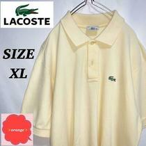 Lacostepolo Shirt Yellow System Size Xl(ll) Photo