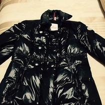 Lacquer Black Women's Moncler  Ski Jacket Size 1 (S) Photo
