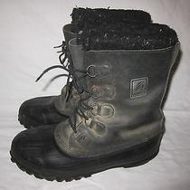 Lacrosse Mens 13 Waterproof Rubber Leather Insulated Winter Snow Boots Photo