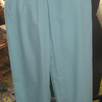 Ladies Aqua Scrub Pants Size M Tafford...lnc Photo