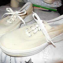 Ladies Athletic Shoes-Keds Purefit-Size 7.5med-Ivory-9.00 Photo