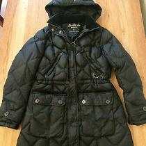 Ladies' Barbour 'Bowfell Down' Parka Style Coat Size Uk12 Photo