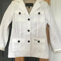 Ladies Barbour Field blazer.used.size 10.cotton/linen Photo