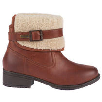 Ladies Barbour Verona Fold Cuff Faux Fur Casual Walking Hiker Boots All Sizes Photo