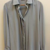 Ladies Basler Blouse Size 38 12 but 14 16 Grey Immaculate Condition Shirt Top Photo