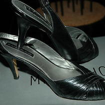 Ladies  Black Heels. Great for the Holidays Photo