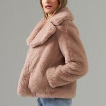 Ladies Blush Furr Jacket by Joseph Ribkoff Style 203501 Size Small New Photo
