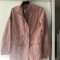 Ladies Blush Pink Jacket. Fabiana Style. Size 12. Zip & Button Close.  Photo