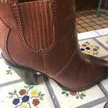 Ladies Coach Short Bootie Western Boot Size 10 Brown Photo