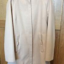 Ladies Collarless Coat Size 8 (Blush/nude) Photo