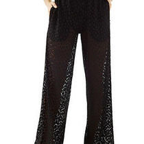 Ladies Crochet Pants Gottex Off White  Small Photo