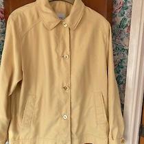 Ladies Dannimac Yellow Waterproof Coat Jacket Excellent Condition Size 16 Photo