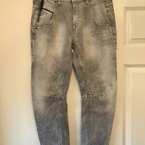 Ladies Diesel Black Gold Grey Jeans Size 28 W28 L26 Petite  Photo