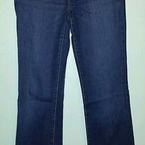 Ladies Express Denim Low Rise Boot Cut Jeans Size 4 Womens Slim Nice Brand Name Photo