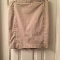 Ladies Express Khaki Shirt Size 2 Gold Accents  Photo