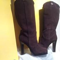 Ladies Fendi Designer Boots Photo
