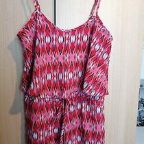 Ladies Frill Detail Jumpsuit Size 12-14 Photo