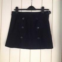 Ladies Gap Italian Wool Black Skirt. Size 4 Uk 10 Photo