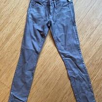 Ladies Gap Uk Size 0 Silver Jeans Trousers Nwts Photo