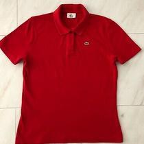 Ladies Genuine Lacoste Polo Shirt - Size 44 Photo
