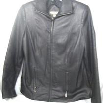 Ladies Genuine Lamb Leather Jacket Photo