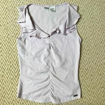 Ladies Guess Jeans Lilac Top T Shirt Vest Size S 8-10 Allsaints Hugo Photo