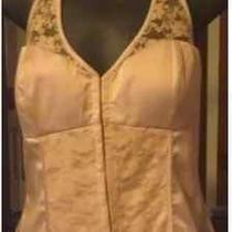 Ladies Guess Pink Corset Top Size Medium  Photo