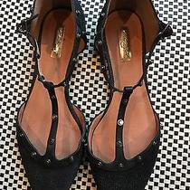 Ladies Halogen (Valentino Look Alike) Flats Black Size 10 Photo