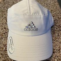 Ladies Hand Swarovski Crystaled Adidas Hat Photo
