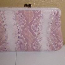 Ladies Handbag - via Spiga Faux Snake Skin W Original Care Instructions  Euc Photo