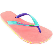 Ladies Havaianas Brazil Mix Slip on Flip Flops Summer Beach Sandal New All Sizes Photo