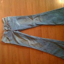 Ladies Hudson Brand Jeans in a Size 27.  Medium Blue Wash Photo