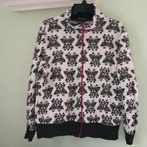 Ladies Jacket-Size Large-Classic Elements Brand-Black & Ivory Colors-New-Pretty Photo