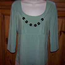 Ladies Kc Stevens Brand Stretch Top Shirt Size Medium Photo