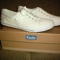 Ladies Keds- New in Box Size 8.5- White  Photo