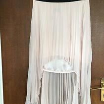 Ladies Lipsy Blush Pink Skirt With Back Longer Than Front Size 12 Photo