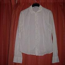 Ladies Long Sleeve Striped Shirt by Abercrombie & Fitch  Size M Photo