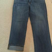 Ladies Lucky Brand Jeans Cropped Denim Capris Blue Sz 6 28 Sweet N Low Crop Ln  Photo
