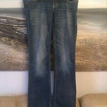Ladies Maternity h&m Distressed Jeans - Size 14- Eur 40 Used Photo