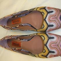 Ladies Missoni Shoes-Missoni Flats-Missoni Shoes-Size 7 Photo