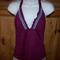 Ladies Mossimo Brand Stretch Halter Top Size Junior Small Photo