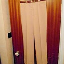 Ladies New 'Basler' Beige Colour Trousers With Belt Photo
